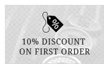 10% Discount on your first order