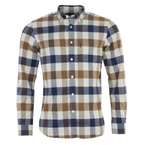 Aquascutum Marcus Large Scale LS Check Shirt