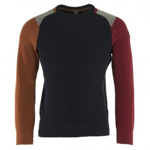 Paul & Shark Contrast Colours Jumper