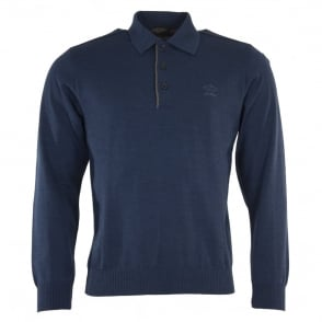 Paul & Shark Long Sleeve Polo Shirt