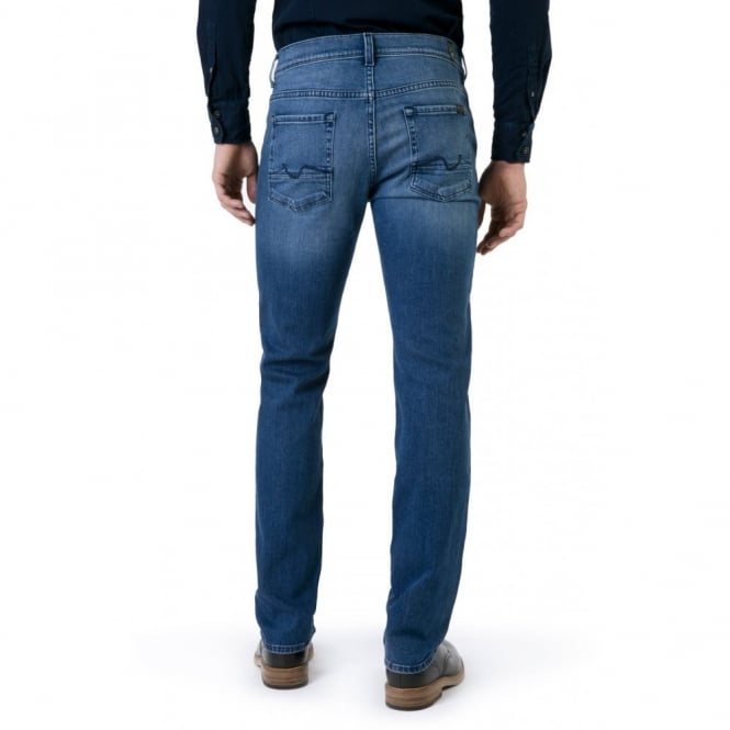 7 For All Mankind Slimmy Luxe Performance Deep Indigo