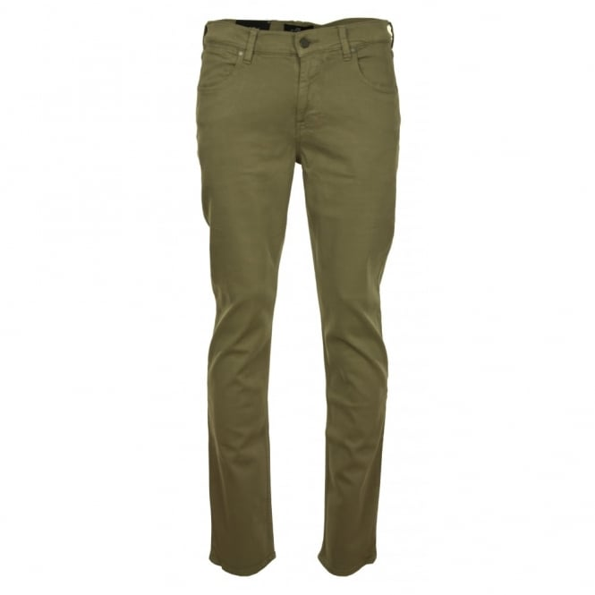 7 For All Mankind Slimmy Luxe Performance Khaki