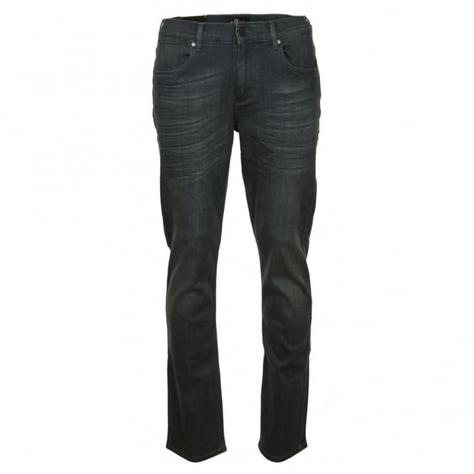 7 For All Mankind Slimmy Luxe Performance Superior Grey