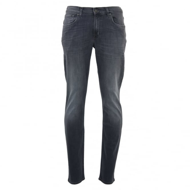 7 For All Mankind Slimmy Luxe Performance Tex Grey