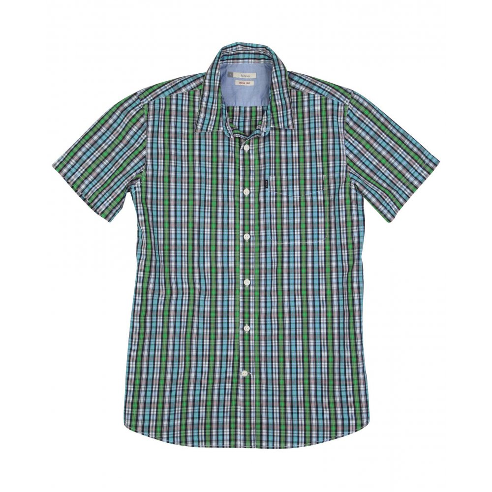 Find short sleeve check shirt at ShopStyle. Shop the latest collection of short sleeve check shirt from the most popular stores - all in one place.
