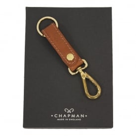 Leather Key Ring Lanyard