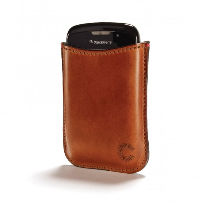Croots England Croots Cambridge Vegetable Tanned Leather Blackberry Bold Sleeve