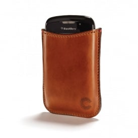 Croots Cambridge Vegetable Tanned Leather Blackberry Bold Sleeve