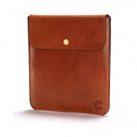 Croots Cambridge Vegetable Tanned Leather iPad Sleeve