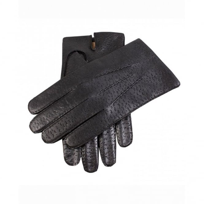 Dents Imitation Peccary Leather Gloves
