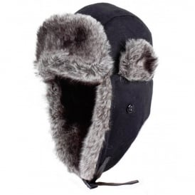 Dents Wax Cotton Trapper Hat