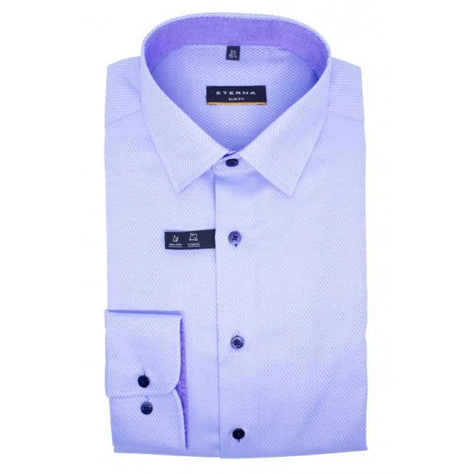 Eterna Pattern Shirt | Slim Fit