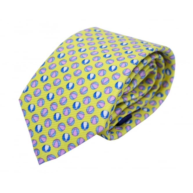 Eton Beach Ball Pattern tie