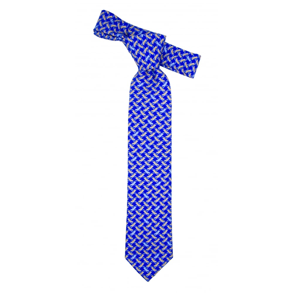 eton beach chair pattern tie gibbs menswear