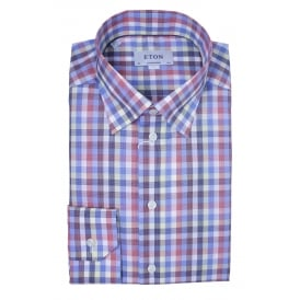 Multi Colour Check Shirt | Contemporary Fit