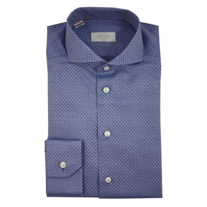 Eton Patterned Shirt | Slim Fit