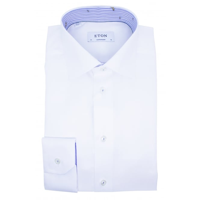 Eton Solid Colour Shirt | Contemporary Fit