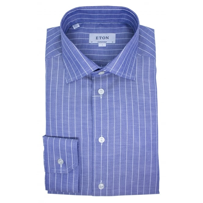 Eton Stripe Shirt | Contemporary Fit