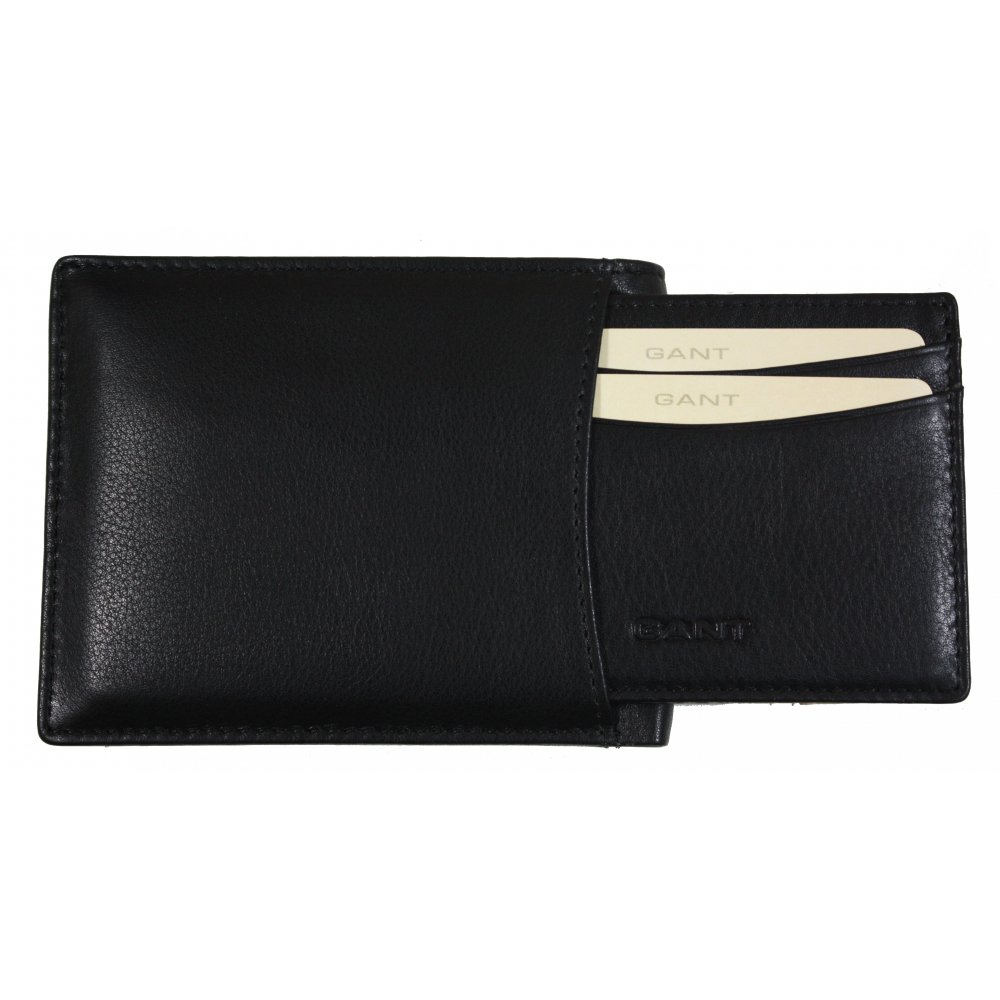 14917c07373 Gant Classic Leather Wallet + Card Holder | Gibbs Menswear