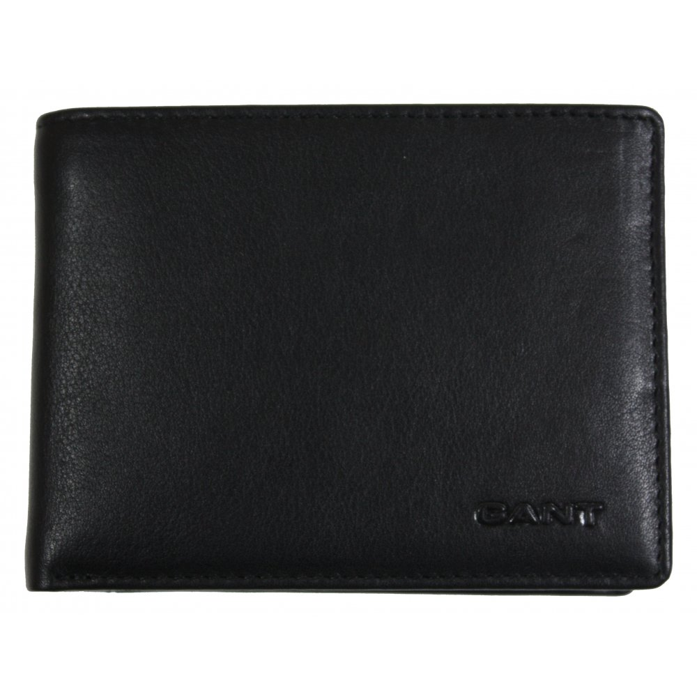 572a4a5647e Gant Classic Leather Wallet | Gibbs Menswear