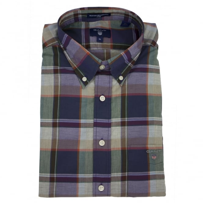 Gant Heather Broadcloth Plaid Shirt