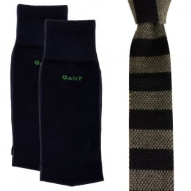 Knit Tie/Sock X-Mas Gift Pack