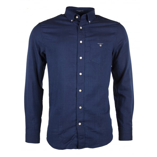 Gant O1. Winter Double Face Check Reg BD Shirt