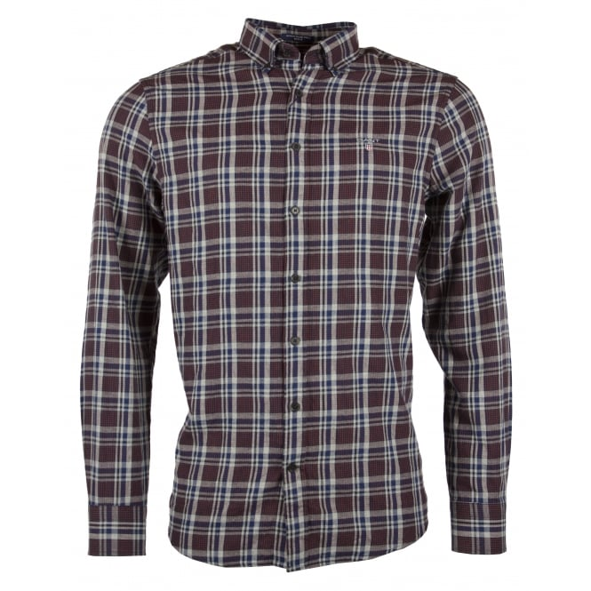 Gant O2. Nordic Multi Plaid Reg BD Shirt