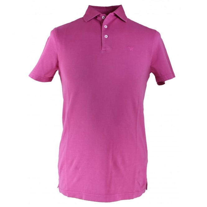 Hackett Garment Dye Slim Fit Polo Shirt