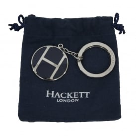 H Enamel Key Ring