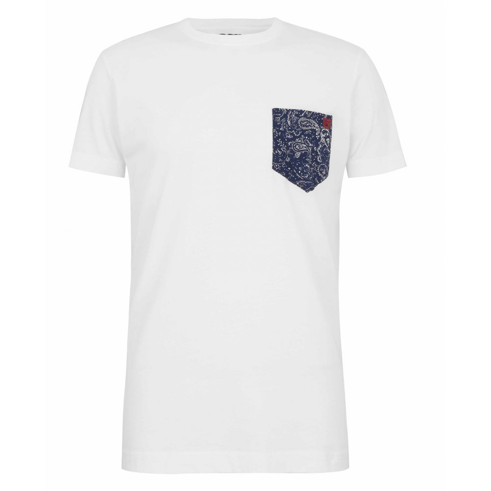 Hackett printed pocket t shirt hackett from gibbs for Pocket t shirt printing
