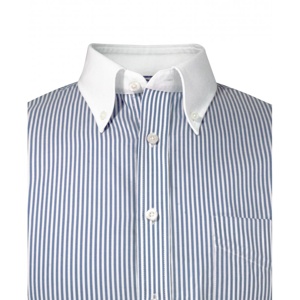 White Collar Shirt Custom Shirt