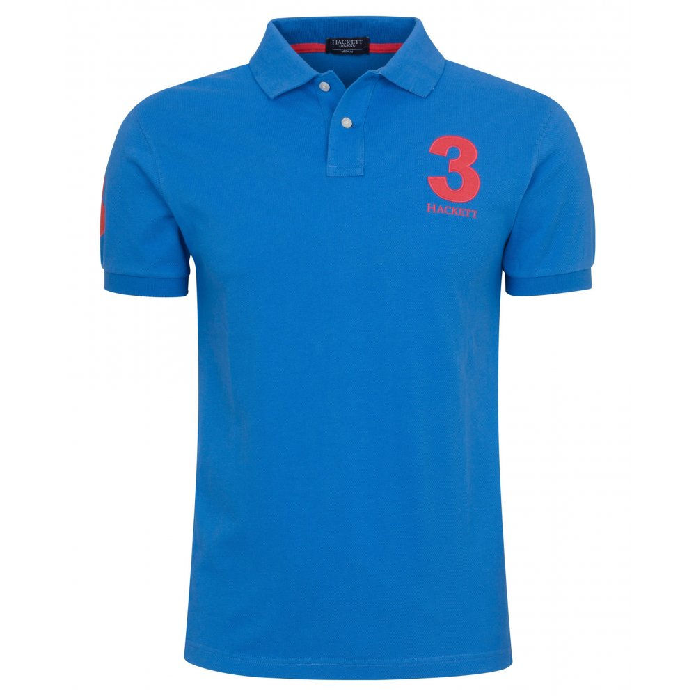 Hackett tailored numbered polo shirt hackett from gibbs for Order company polo shirts