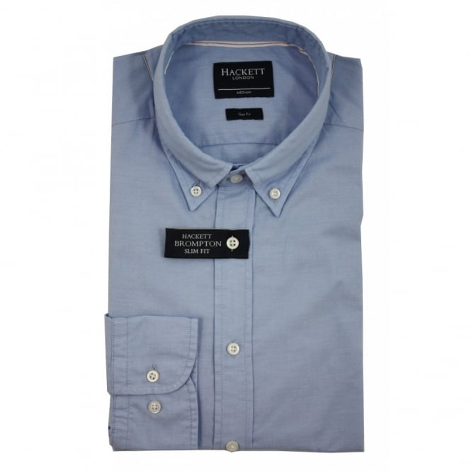 Hackett Washed Oxford Selvedge Shirt