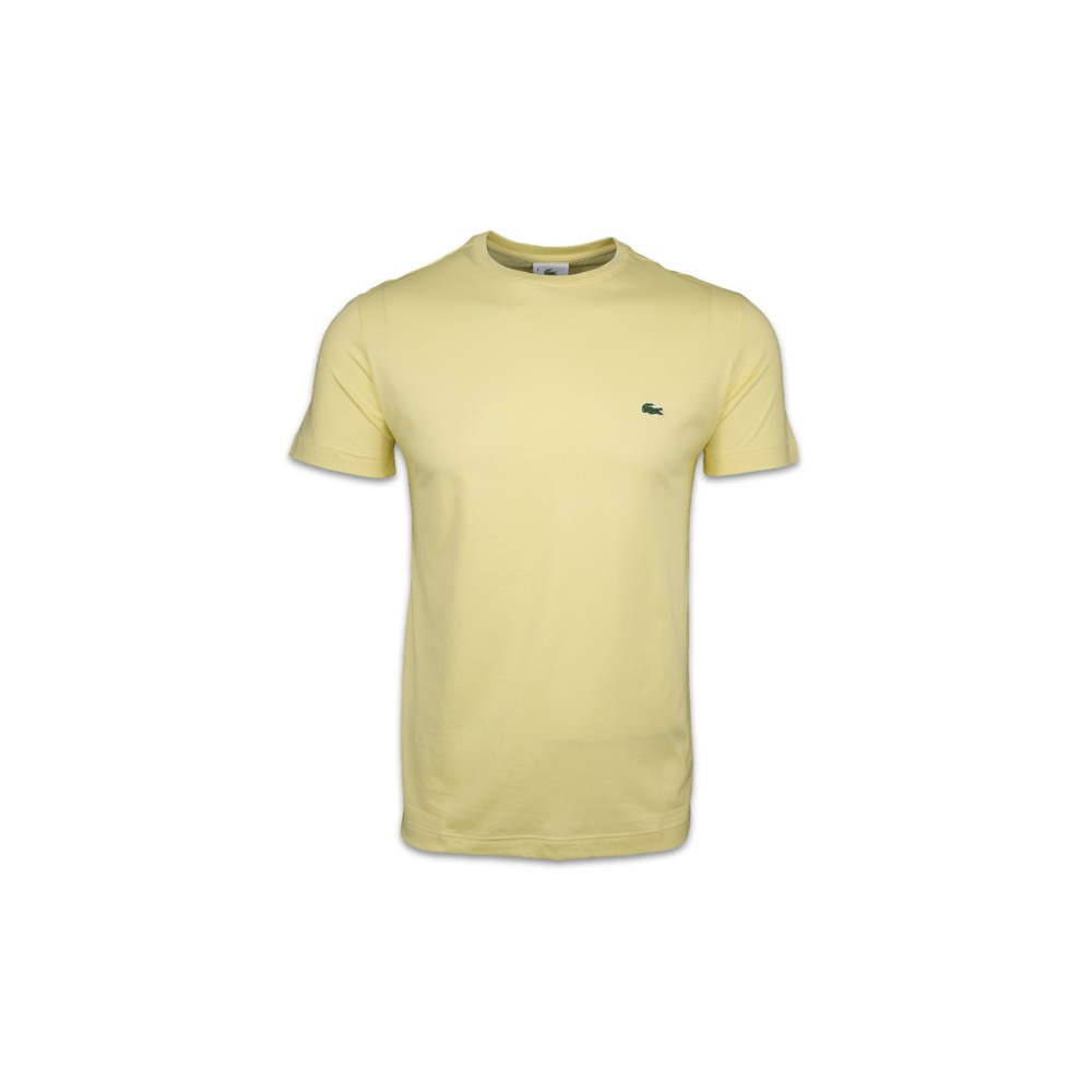 Lacoste Crew Neck Plain T Shirt T Shirts From Gibbs