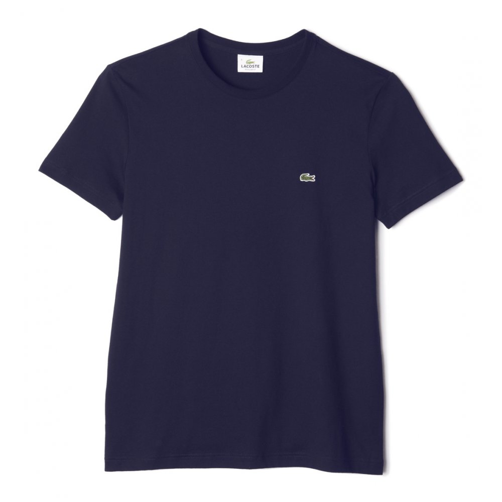 Lacoste Crew Neck Plain T Shirt Lacoste From Gibbs