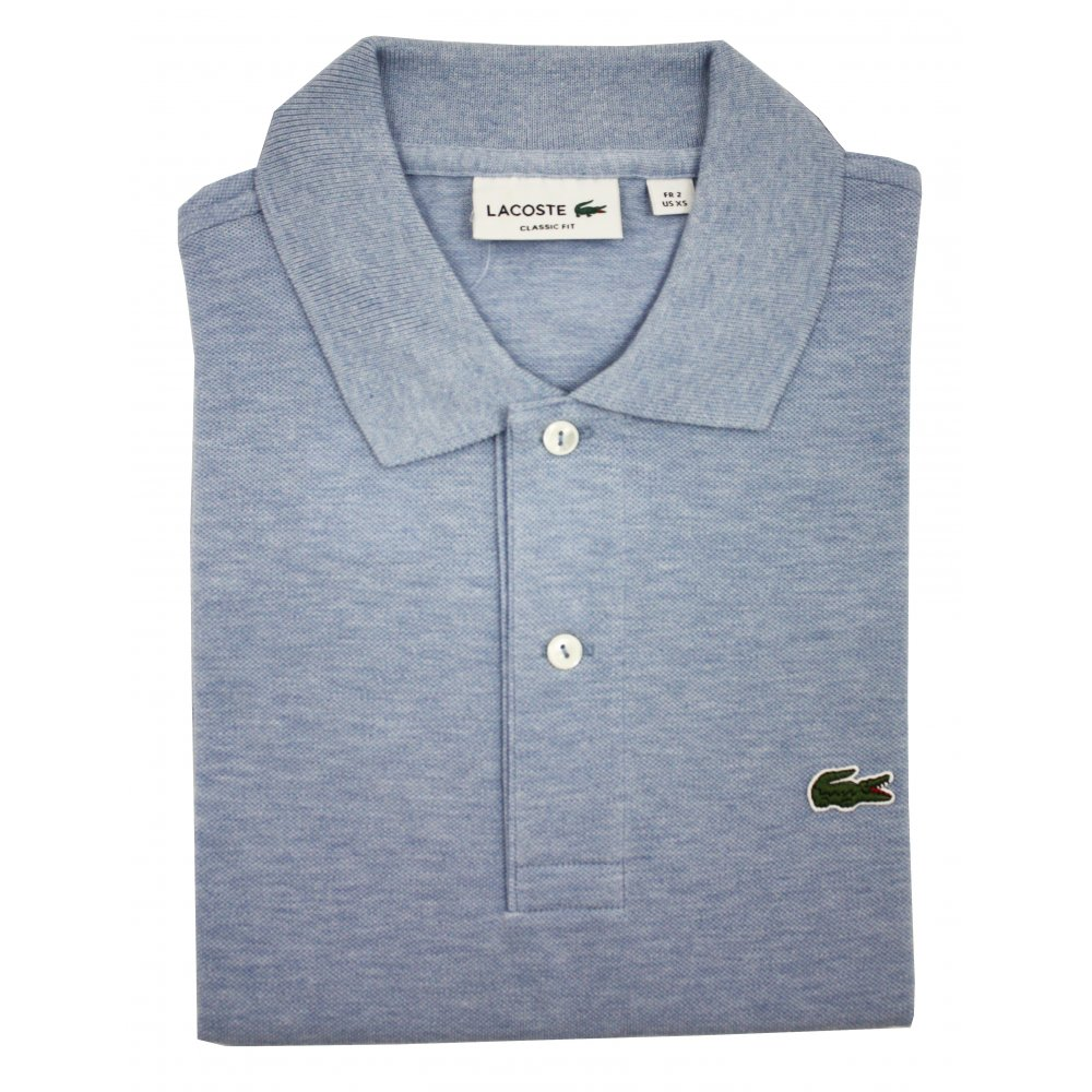 264f89caff84 Lacoste Original Mottled Polo Shirt
