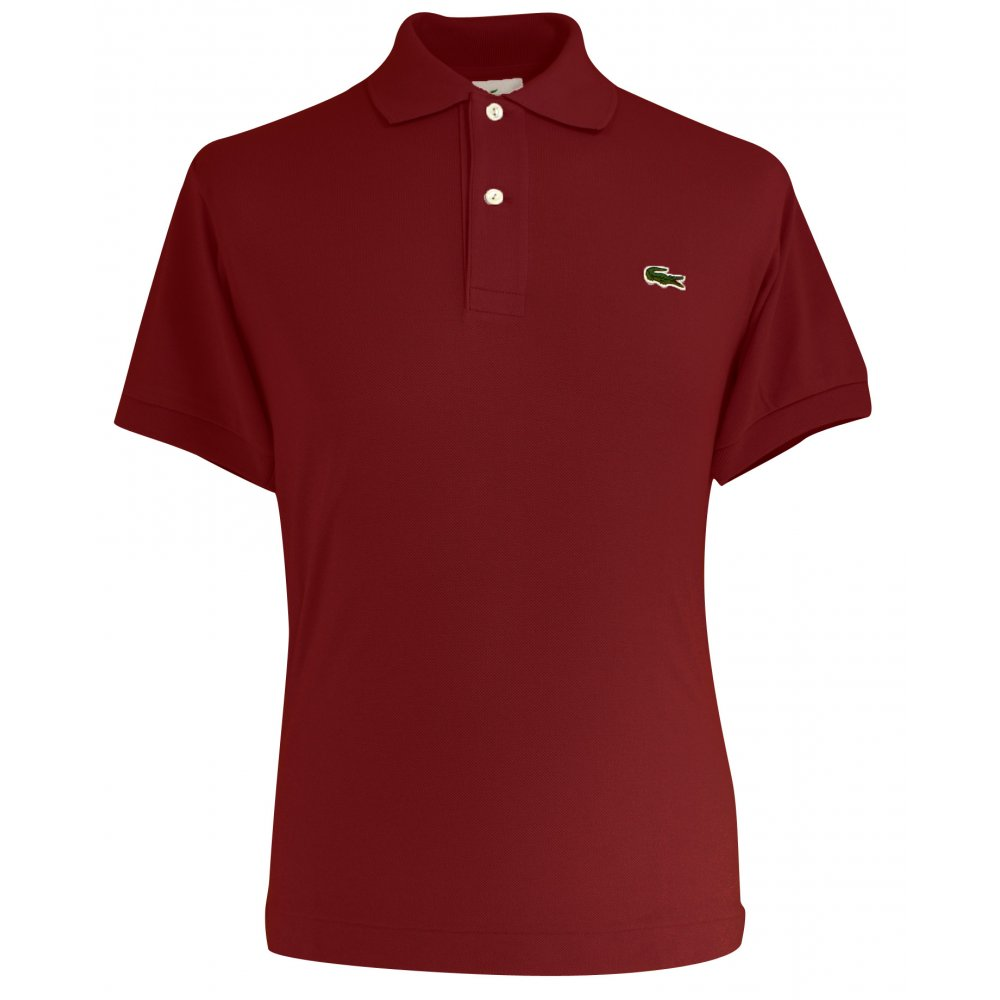 7a73ba3ca Lacoste Plain Original Polo Shirt - Polo Shirts from Gibbs Menswear UK