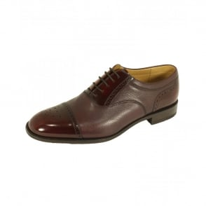 Loake Woodstock Two Tone Oxford Shoe