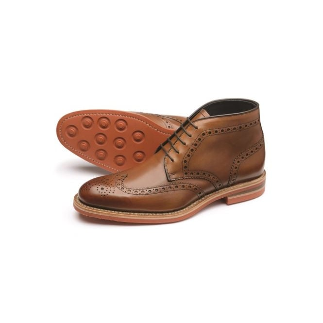 Loake Reading Brogue Derby Boot