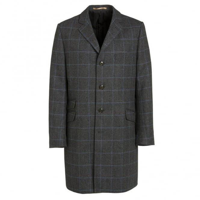 Magee Grey and Blue Newbury Coat