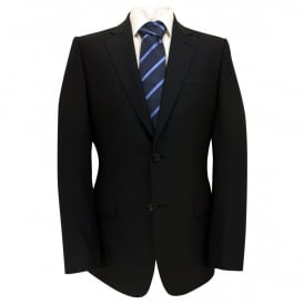 Plain Navy Suit Jacket