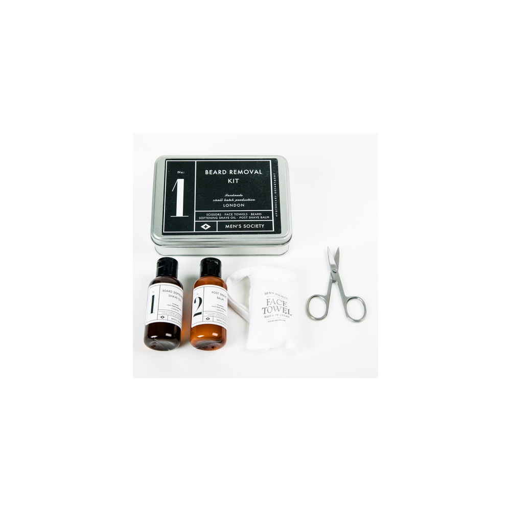 men 39 s society beard removal kit gibbs menswear. Black Bedroom Furniture Sets. Home Design Ideas