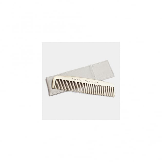 Men's Society Brass Comb - Not a hair out of place