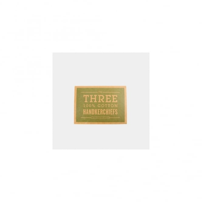 Men's Society Trio of Handkerchiefs - Forest