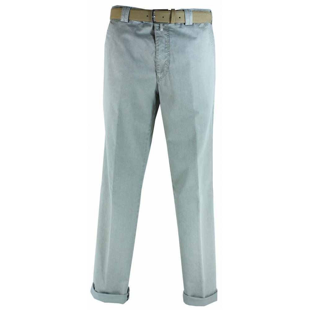 Meyer Roma Cotton Trousers - Meyer from Gibbs Menswear UK