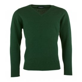 Cluny V-Neck Lambswool Jumper