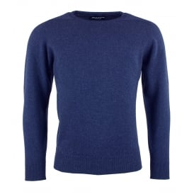 Drum Crew Neck Lambswool Jumper