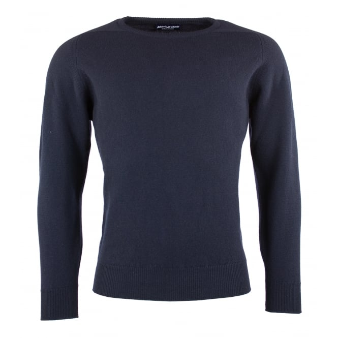Mitchell Scott Drum Crew Neck Lamsbwool Jumper