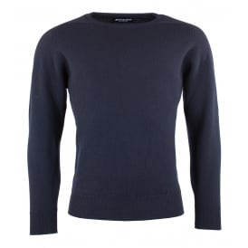 Drum Crew Neck Lamsbwool Jumper
